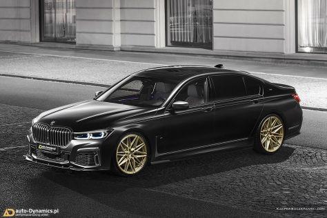 BMW M760Li Tuning: Auto-Dynamics Bodystyling