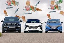 Umweltprämie: Elektroautos und Plug-In-Hybride unter 46.400 Euro