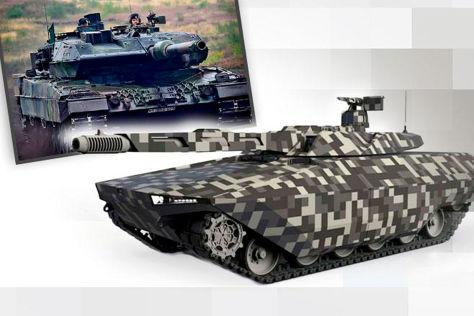 Kampfpanzer Leopard 2 und Leclerc: Nachfolger MGCS