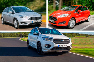Ford-Modelle im M�ngel-Check