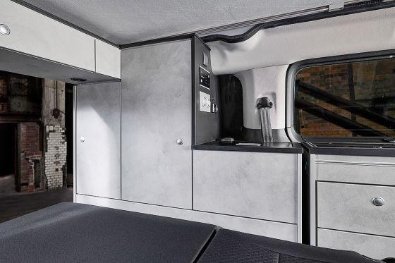 Neuer Camping-Van auf Zafira Life