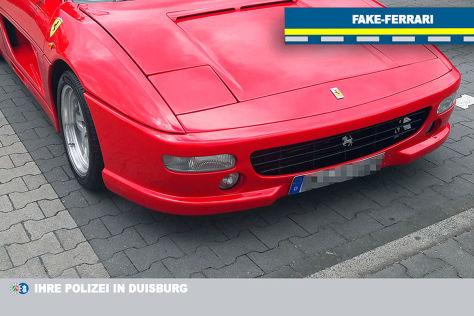 Fake Ferrari F355 Von Der Polizei Kontrolliert Autobild De
