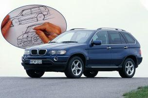BMW X5 in zwei Stunden gezeichnet