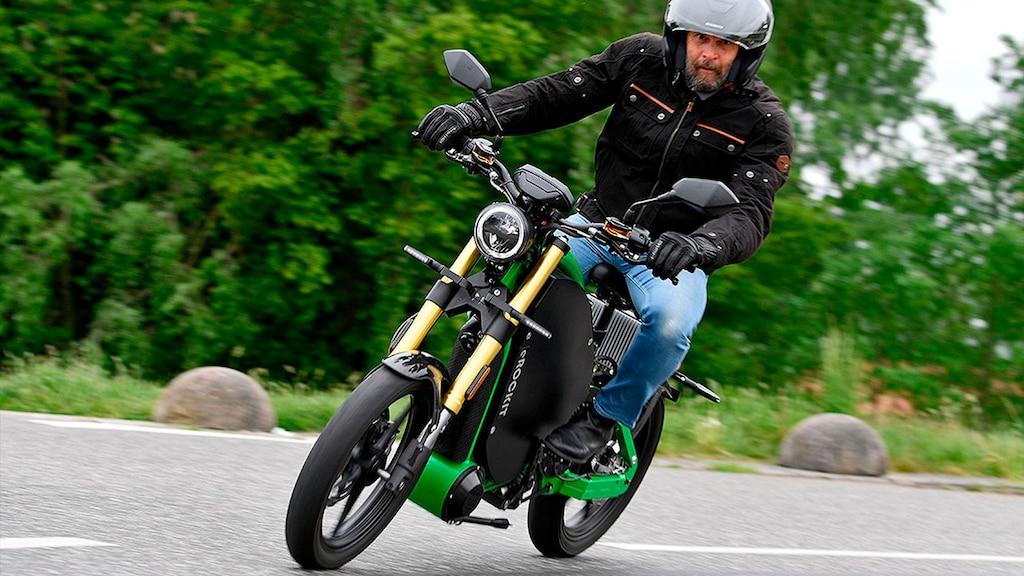 Das E-Motorrad zum Strampeln