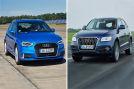 Collage Audi A3  vs Audi Q5