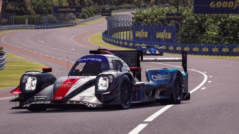 Le Mans: virtuelles Rennen