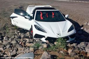 So sollte man eine Corvette nicht fahren!