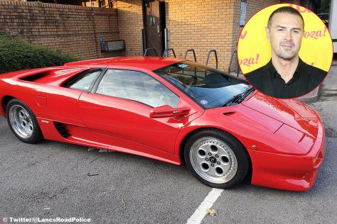 Lamborghini Diablo: Unfall bei Top-Gear-Dreh