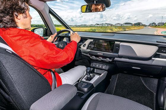 So fährt der Honda Jazz Crosstar
