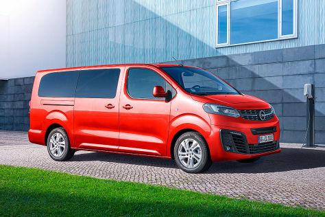 Opel Zafira e-Life (2020): Akku, Reichweite, Motor, Ausstattung, Anhängelast