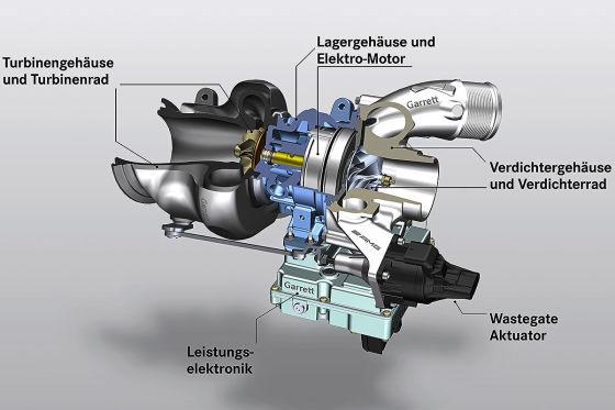 AMG elektrifiziert seinen Turbolader