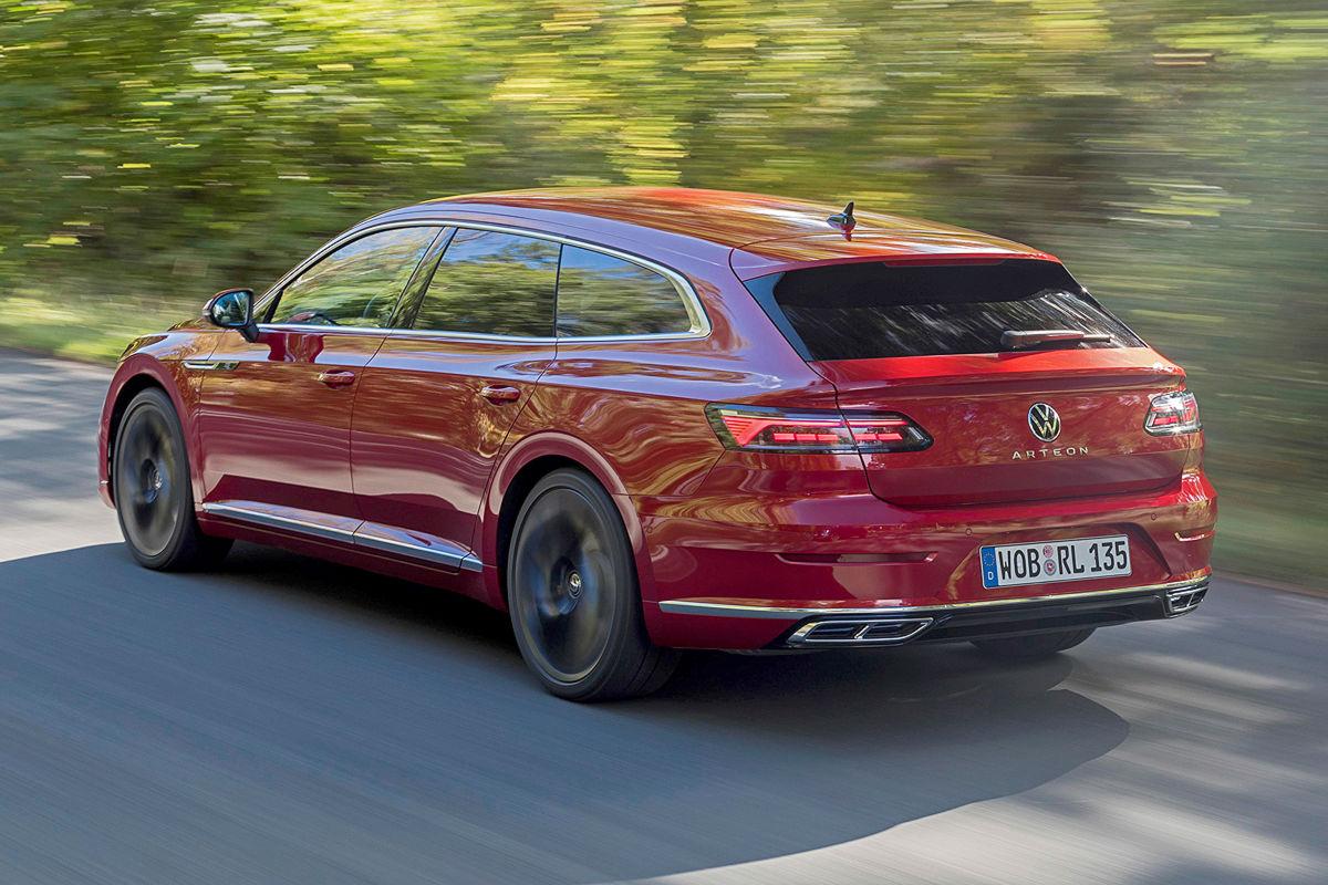 VW Arteon Facelift Shooting Brake: Bilder