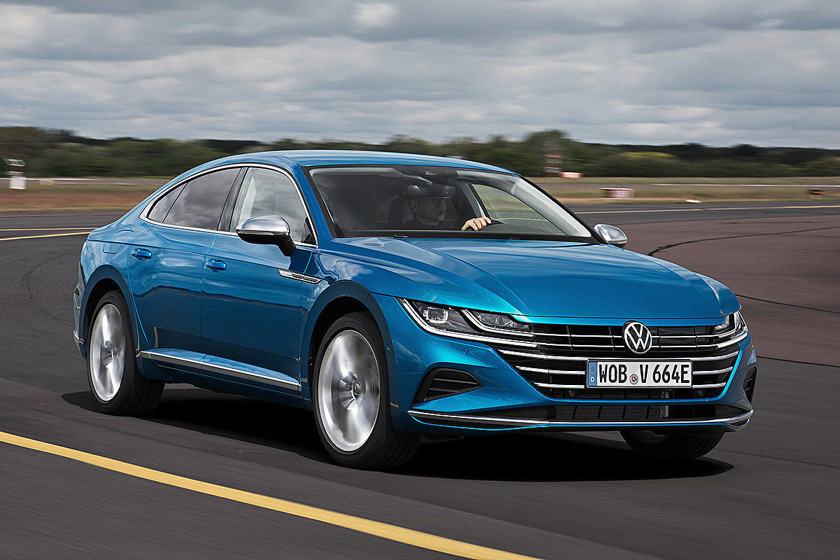 VW Arteon Facelift Shooting Brake: Bilder