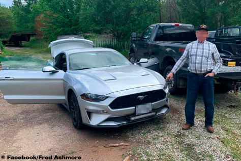 Ford Mustang GT: neuer Cannonball-Rekord