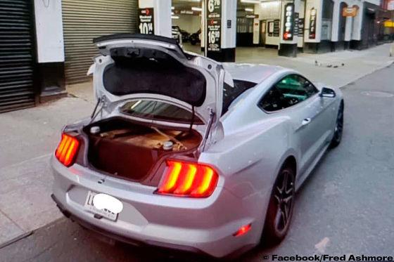 Miet-Mustang knackt Cannonball-Rekord!