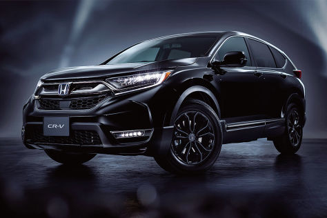Honda CRV Black Edition (2020): Japan, Motor, Ausstattung
