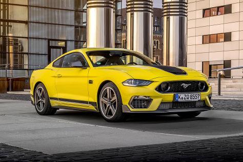 Ford Mustang Mach 1        !! Sperrfrist 16. Oktober 2020  11:00 Uhr !!
