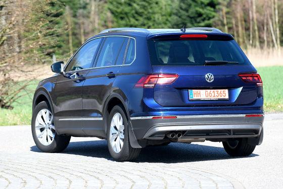 VW Tiguan 2.0 TDI Highline: Gebrauchtwagen