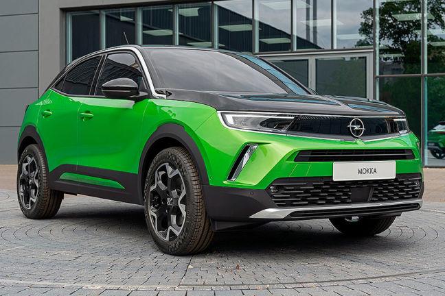 Opel Mokka E 2020 2021 Neuvorstellung Suv Elektro Auto Bild