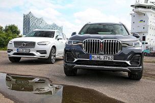 Giganten-SUVs: Hybrid vs. Benziner