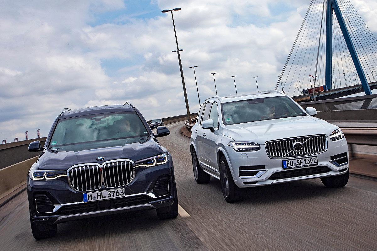BMW X7 Volvo XC90