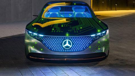Mercedes und Nvidia: Kooperation