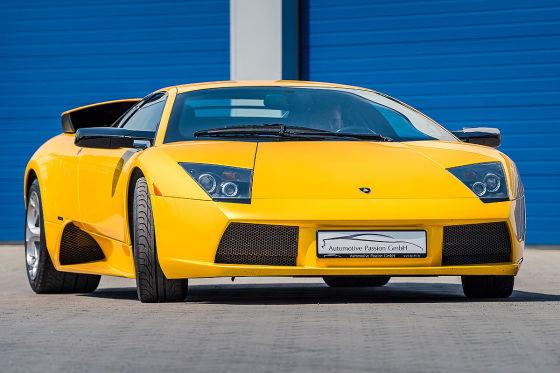 Lamborghini Murciélago mit Angebertacho