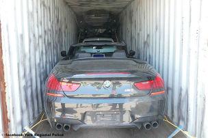 Luxus-Karossen in Containern gefunden!