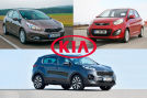 Kia Ceed    Kia Sportage    Kia Picanto    -  Montage
