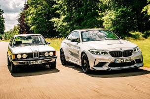 BMW M2 CS trifft seinen Urahnen 323i