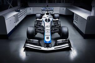 Williams zeigt neue Lackierung