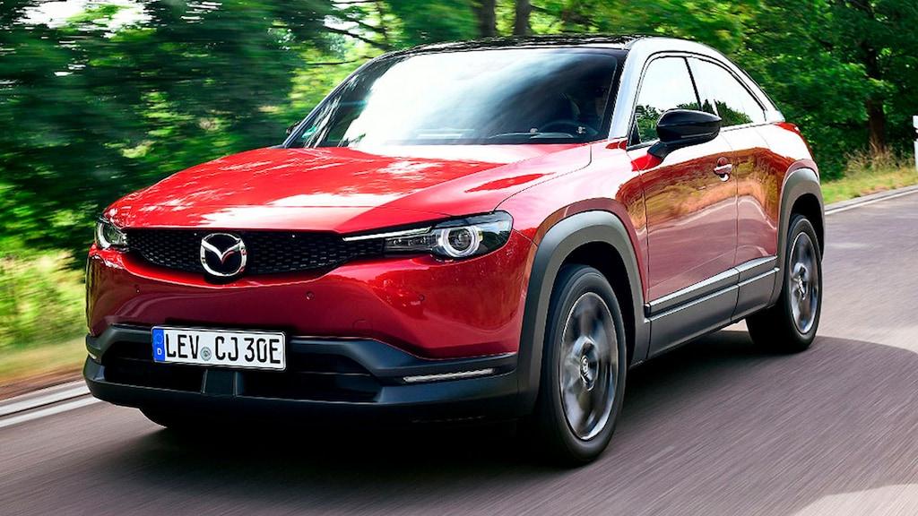 Erste Fahrt im ersten Elektro-Mazda