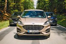 Ford Kuga, Mazda CX-5, Renault Koleos: Test, Motor, Preis