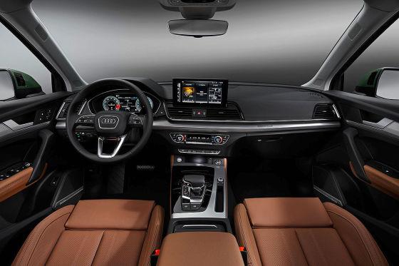 Audi Q5 Facelift Fahrt Auf Der Grunen Welle Theoretisch Autobild De