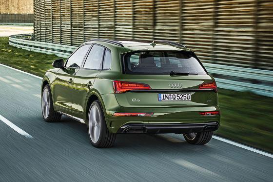 Das Audi Q5-Facelift fährt auf der grünen Welle – aber mit Einschränkungen
