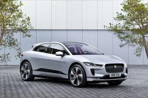 Jaguar I-Pace lädt schneller