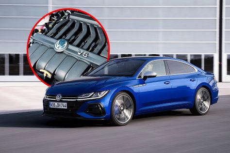 VW Arteon R (2020): VR6, Vierzylinder, Gründe, Vorteile, Nachteile
