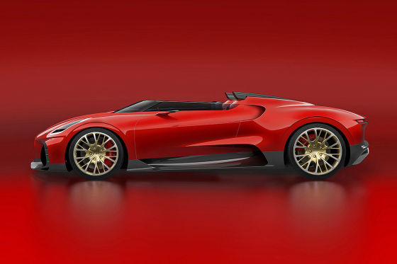 Baut Bugatti ein neues Einzelstück für neun Millionen Euro oder mehr?