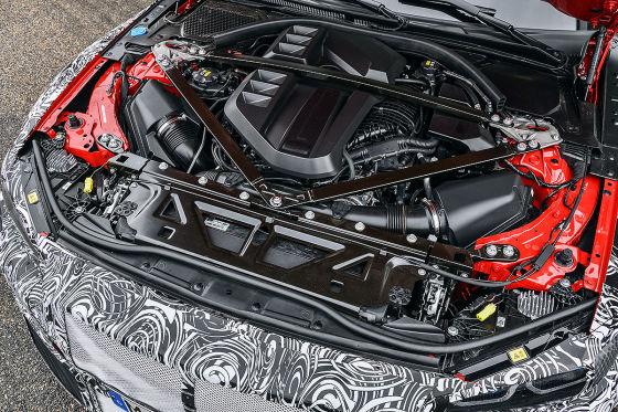 Neu und gierig: Erste Testahrt im neuen M4