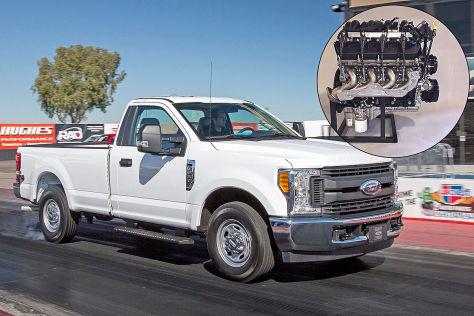 Ford V8 mit 7,3 Liter Hubraum: Sauger, Motor, Crate Engine