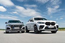 Audi RS Q8, BMW X6 M: Test, Motor, Preis
