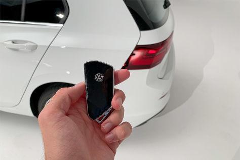 Darum ist Keyless-Go im VW Golf 8 sicher - autobild.de