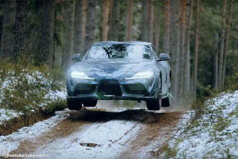 Toyota Supra A90: Drift, Video