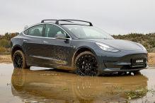 Tesla Model 3: Delta4x4 Höherlegung