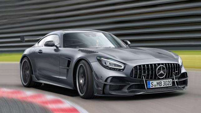 Mercedes-AMG GT R Black Series könnte Ende Juli präsentiert werden