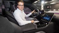 S-Klasse: Neues MBUX wie bei Tesla