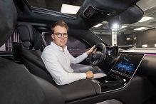Mercedes S-Klasse W223: Neues MBUX wie bei Tesla