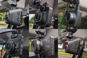 6 Dashcams unter 60 Euro