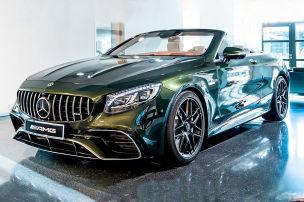 Mercedes in BMW- oder Porsche-Farben