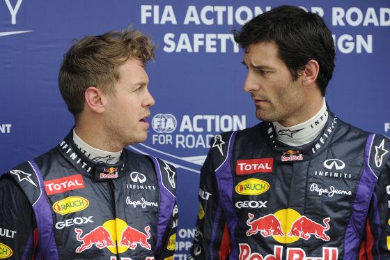 Webber fordert Vettel zu Red Bull